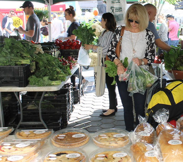 Farmer's Markets - NJ and NYC - Produce, plants, baked goods, and more