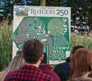 Corn Maze 2016 - Rutgers 250!
