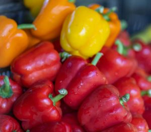 market-produce-peppers-multicolor