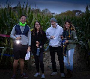 Flashlights Nights in the Corn Maze at Stony Hill Farms